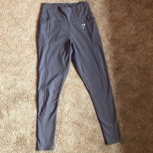 Gymshark Dreamy Leggings 2.0 - Steel Blue, Small